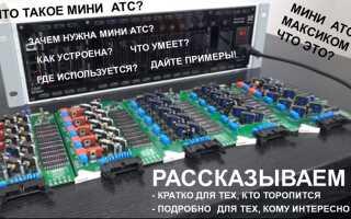 Что такое мини-АТС, зачем она нужна