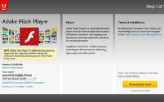 Как скачать с официального сайта Флеш плеер для Смарт ТВ, установить и обновить на телевизор