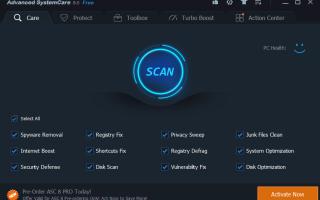 Advanced SystemCare — что это за программа и как ее удалить