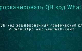 Web версия WhatsApp для ноутбука и компьютера: как сканировать код